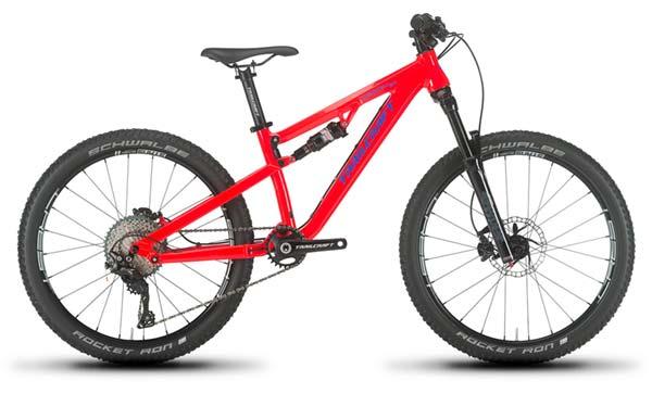 Trailcraft Maxwell 24 - an enduro bike for kids