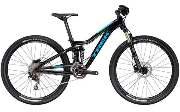 Trek Fuel EX Jr. - an enduro bike for kids with 26 inch wheels