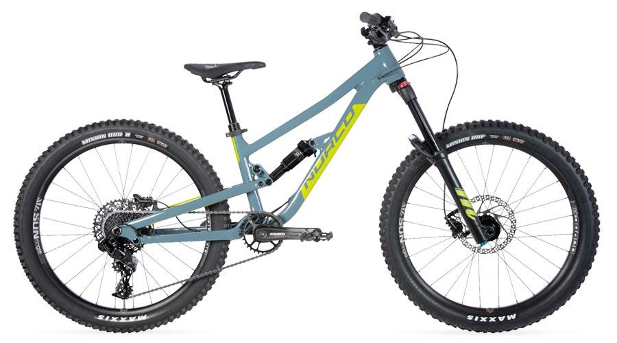 Norco Fluid FS1 24 - downhill bike for kids