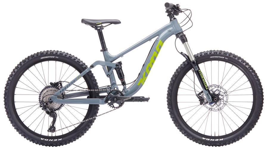 Kona Process - 24 inch wheel downhill bike for kids