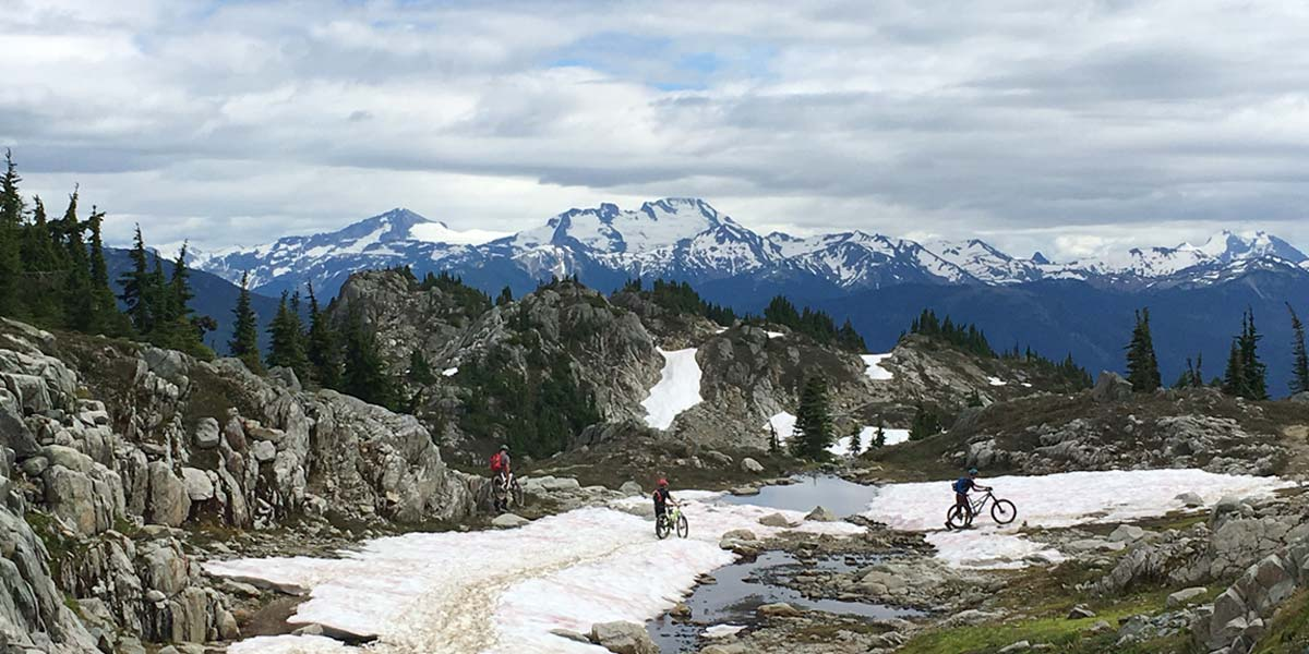 On The Rocks is a spectacular trail in Whistler