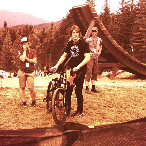 Brandon Semenuk - mountain biking and Crankworx legend