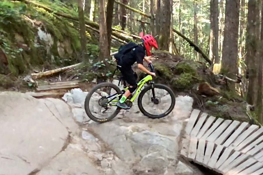 Five Ten Freeriders are great for technical mountain biking