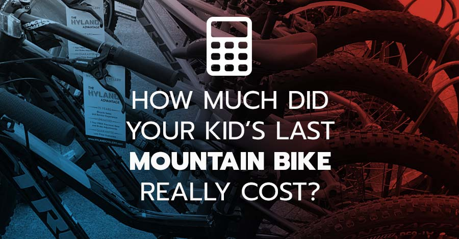 Mountain bike real cost calculator