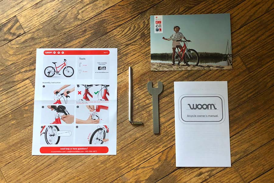 Woom 5 assembly kit