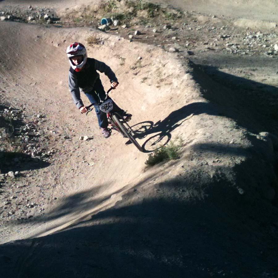 Whistler pump track