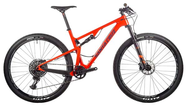 Santa Cruz Blur C S mountain bike for NICA racers