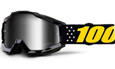 100 Percent goggles for mountain bikers