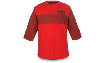 dakine vectra 3/4 sleeve kids mountain bike jersey