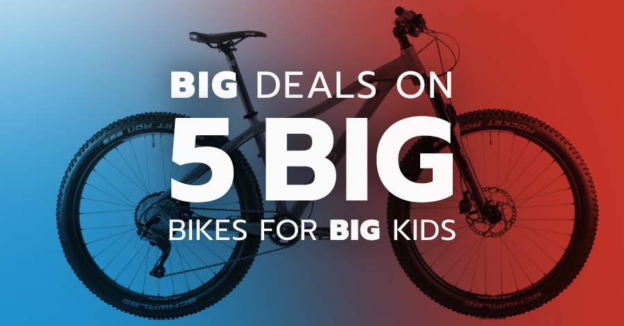 Kids mountain bikes on sale