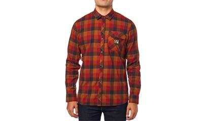 Fox Rowan stretch flannel shirt for dad