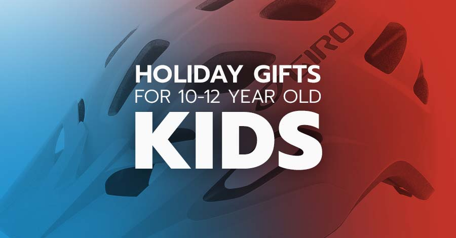 Holiday gifts for 10 year old through 12 year old mountain bike kids