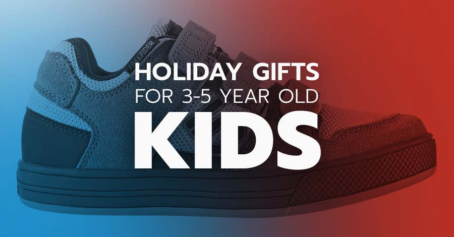 Holiday gifts for mountain biking 3 year-olds through five year-olds