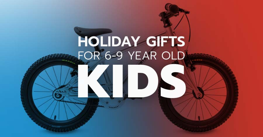 Holiday gifts for mountain bikers - 6 year olds to 9 year olds