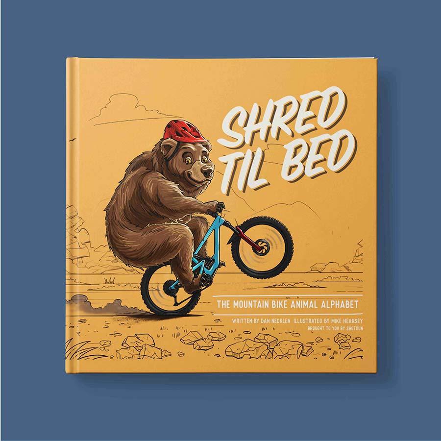 Shred til Bed Alphabet Book gift kids