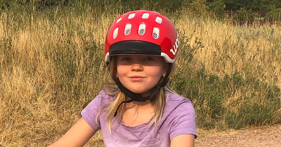 Woom kids' bike helmet review - featured image