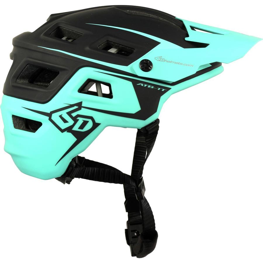 6D ATB 1T mountain bike helmet