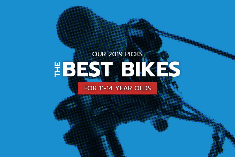The best bikes for kids 11-14 years old