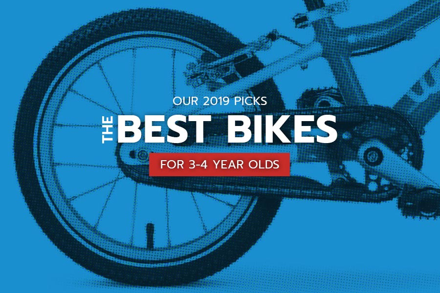 The best bikes for 3-4 year olds, 2019