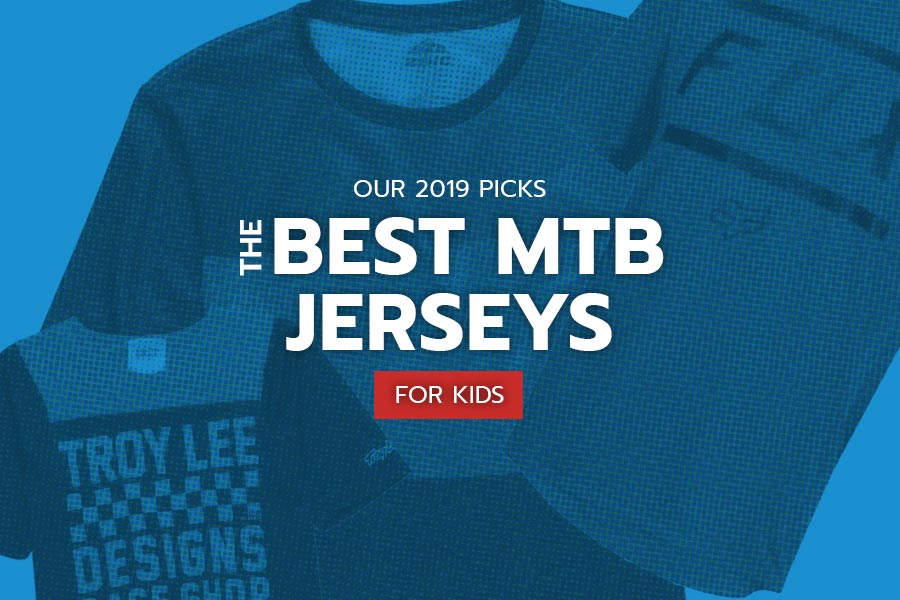 Best mountain bike jerseys for kids