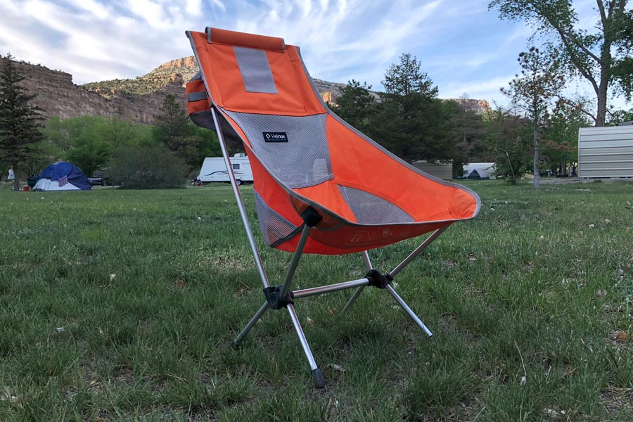 Helinox Chair Two review - set up