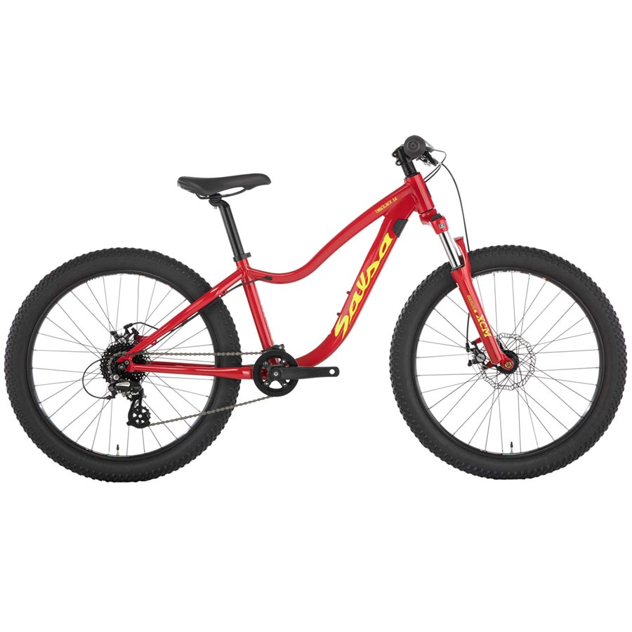 Salsa TImberjack 24 front suspension mountain bike for kids
