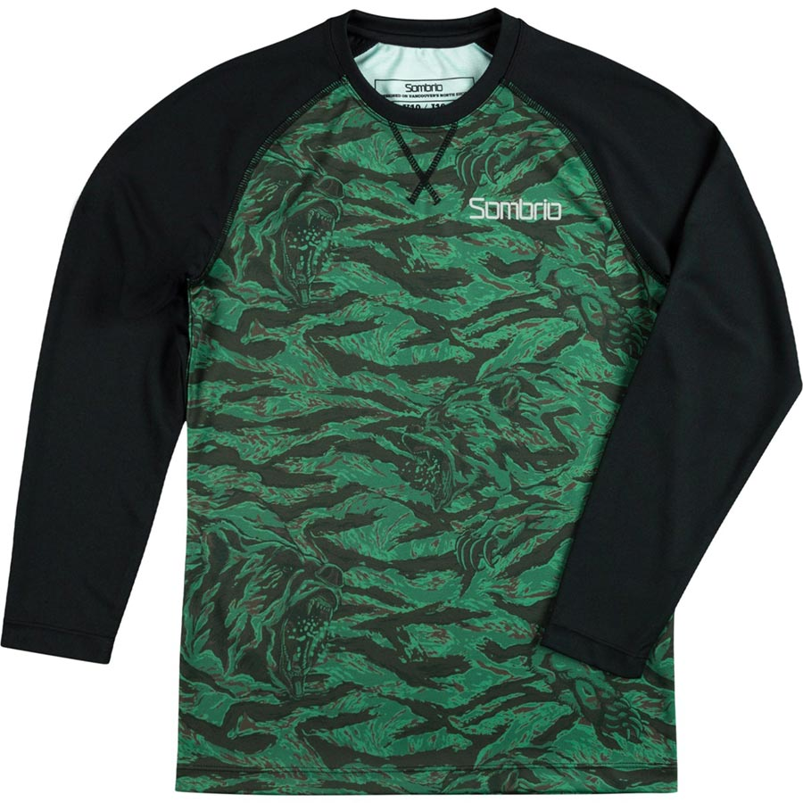 Sombrio Chaos youth long sleeve jersey