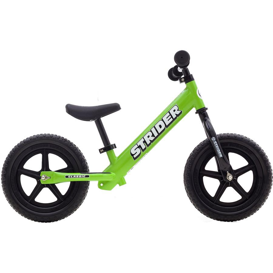 Strider 12 classic balance bike - green