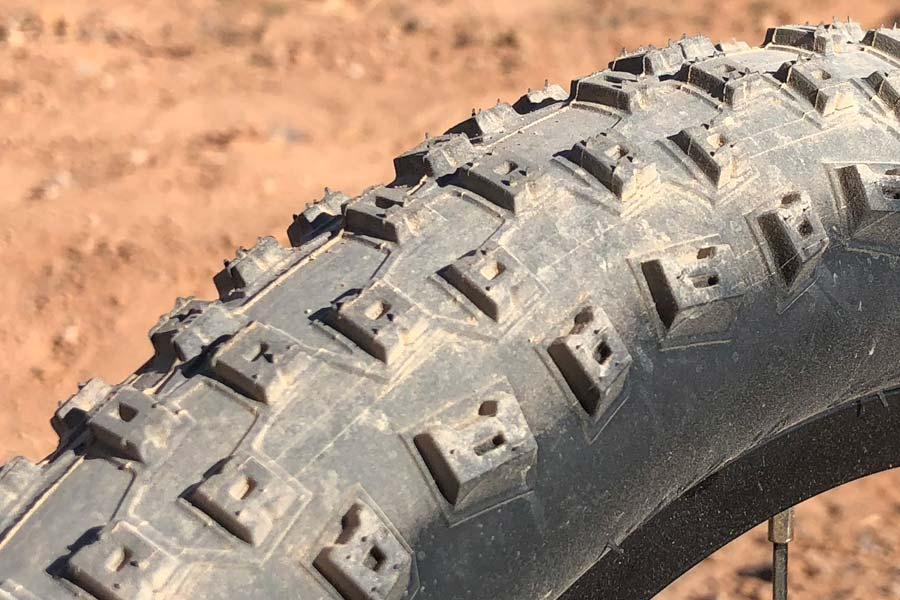 Prevelo Zulu One, Innova tire detail