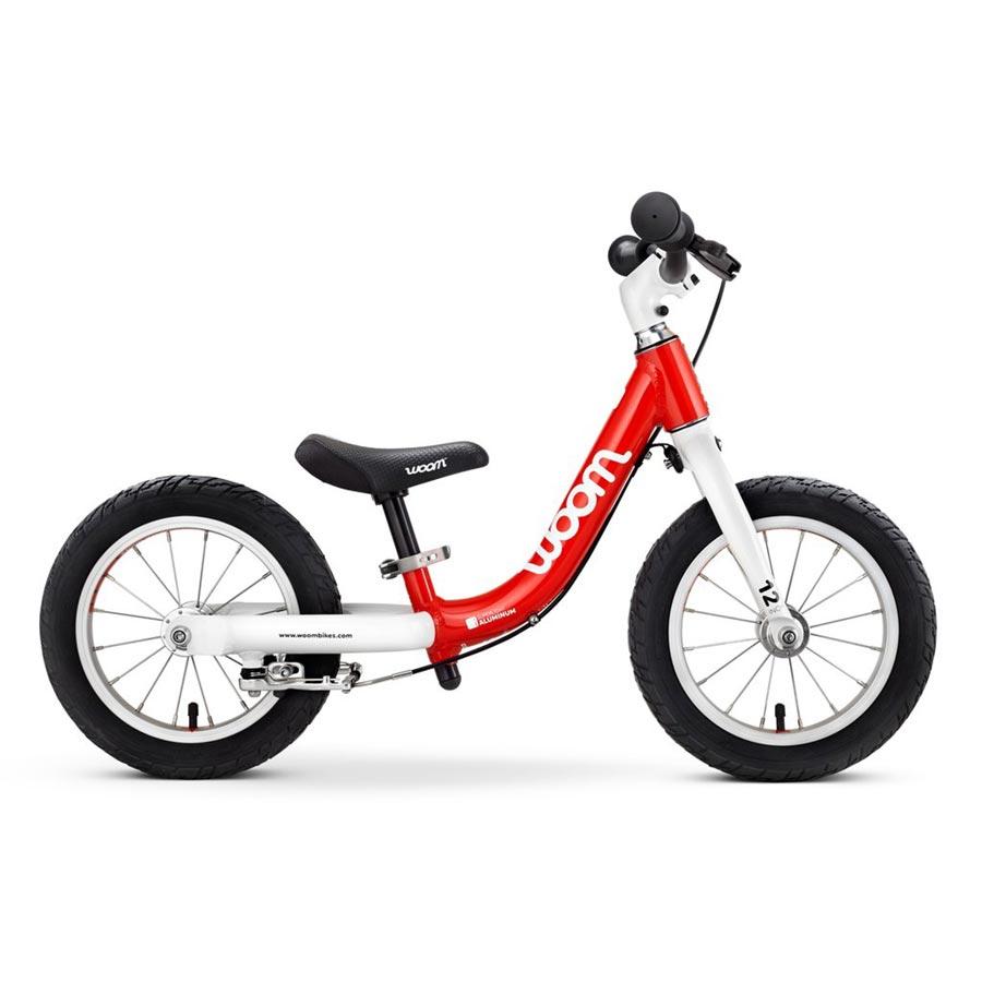 Woom 1 balance bike - red