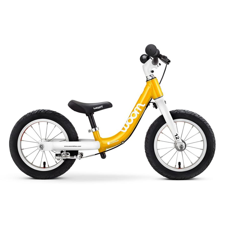 Woom 1 balance bike - yellow