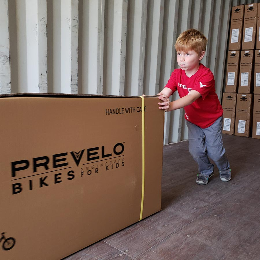 Working hard at Prevelo Bikes