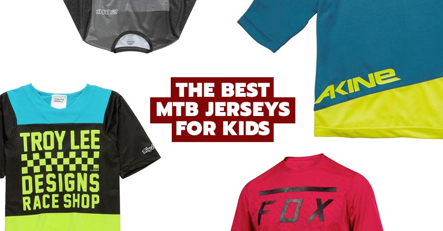 Best mountain bike jerseys for kids