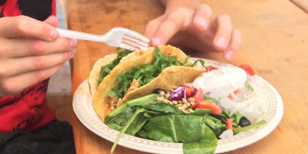 Coast Gravity Park - tacos