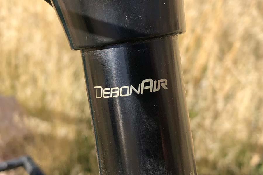 RockShox fork detail