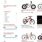 Kids bike database