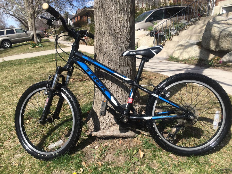 How to sell used kids bikes - full shot