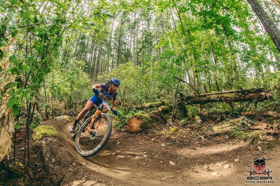 Hannah Rae Finchamp - Clif Pro Team, BC Bike Race