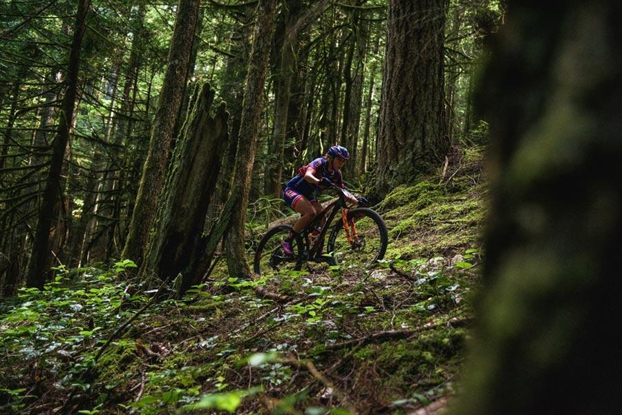 Hannah Rae Finchamp - BC Bike Race, loam