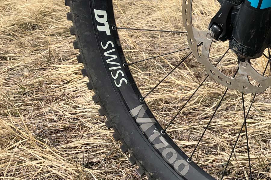 DT Swiss M1700 wheel set