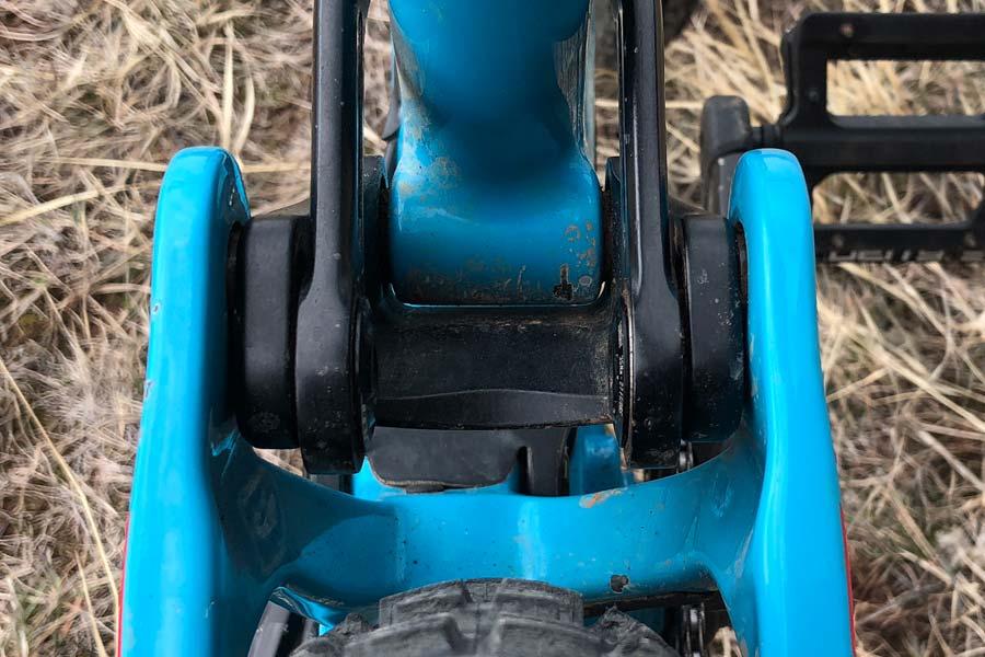 Pivot Mach 6 frame - rear linkage