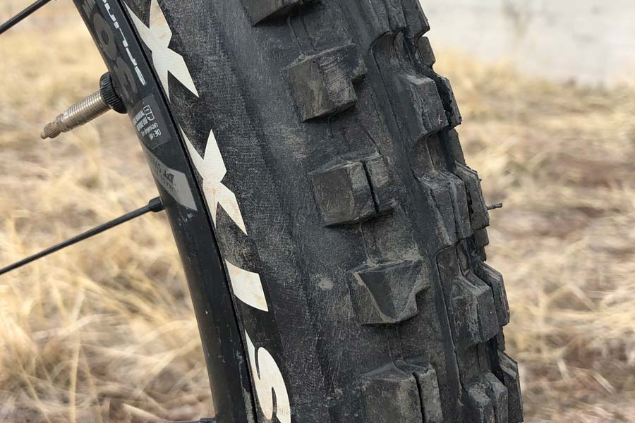 Maxxis tire detail