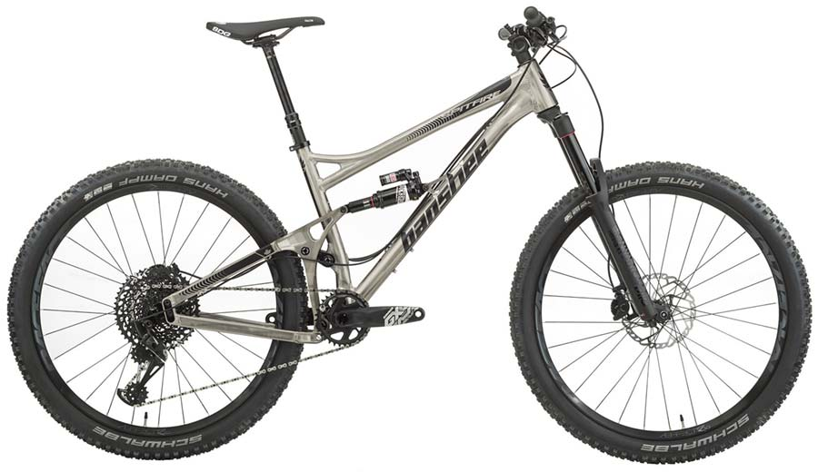 Banshee Spitfire - full suspension mountain bike for teenagers