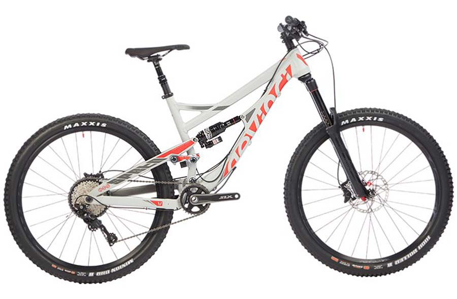 All-mountain bike for high school racer