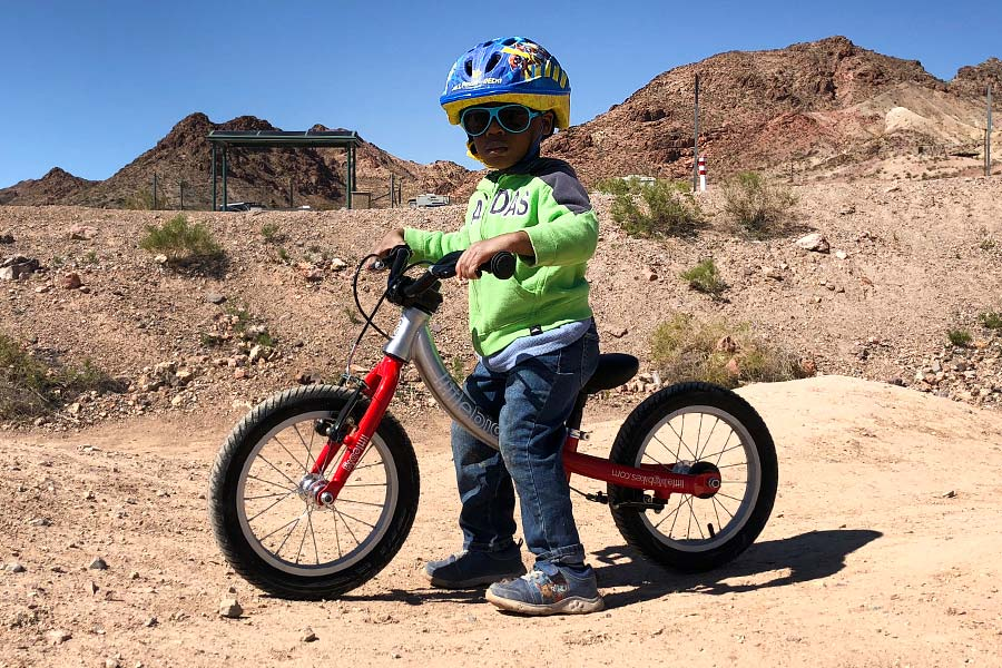 So much fashion and function with the LittleBig Bike