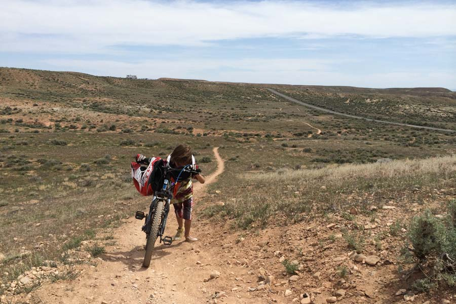 Mountain biking builds grit