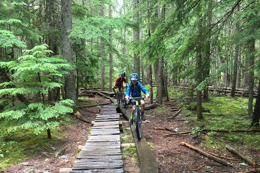 Mountain biking can teach your kids life skills