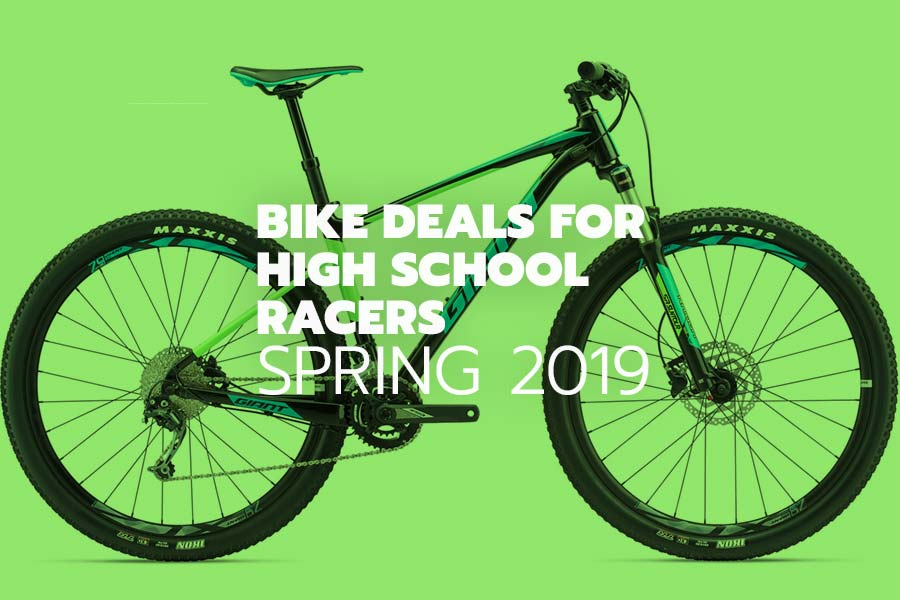 Bike deals for NICA and high school racers - spring 2019