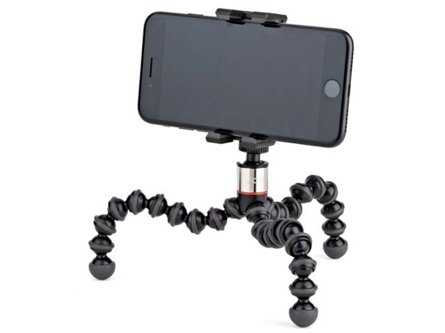 Portable tri-pod for mobile phone