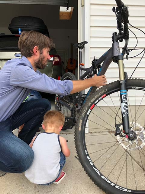 Installing the Shotgun Kids MTB Seat